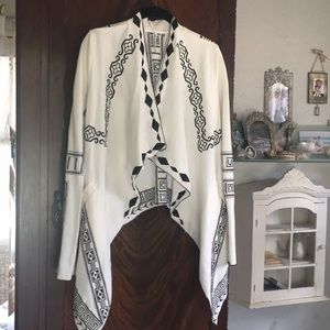 Monoreno embroidered cotton jacket